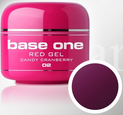 Base One - UV RED GEL - 02. Candy Cranberry