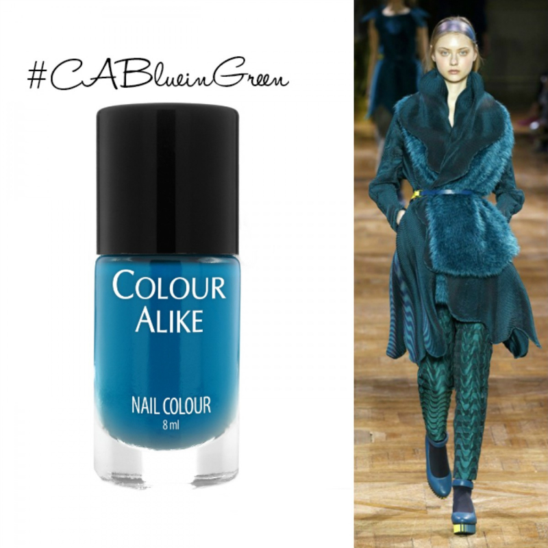 Colour Alike - Stamping Polish - 71. Blue in Green