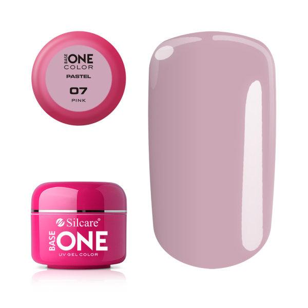 Base One - UV COLOR GEL - Pastel - 07. Pink