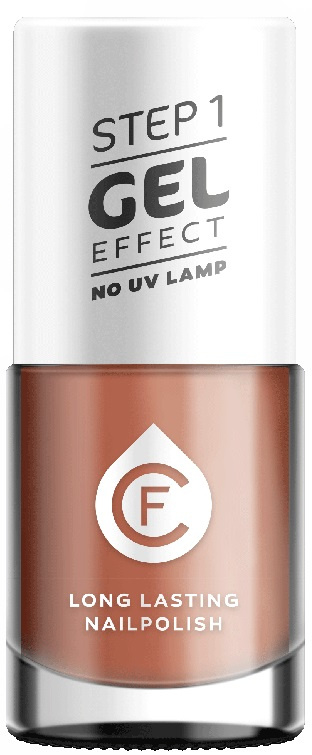 CF Gel Effekt Nagellak - Step 1 - 228. Sparkle Abricot Pink