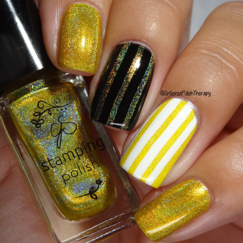 Clear Jelly Stamper Polish - Holo 02