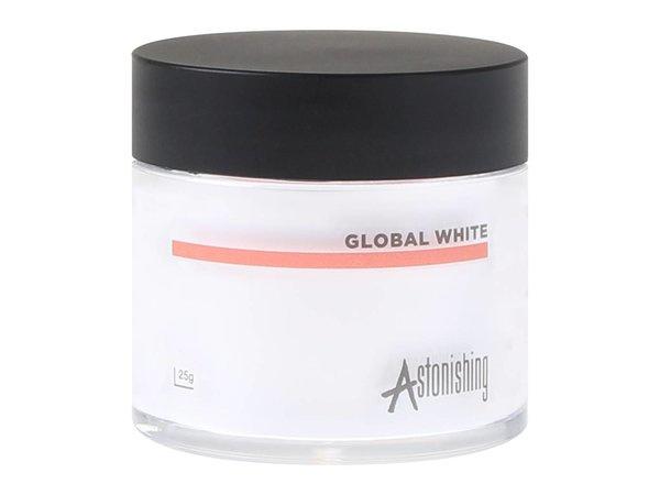 Astonishing - Acrylic Powders - Global White (25 gr)