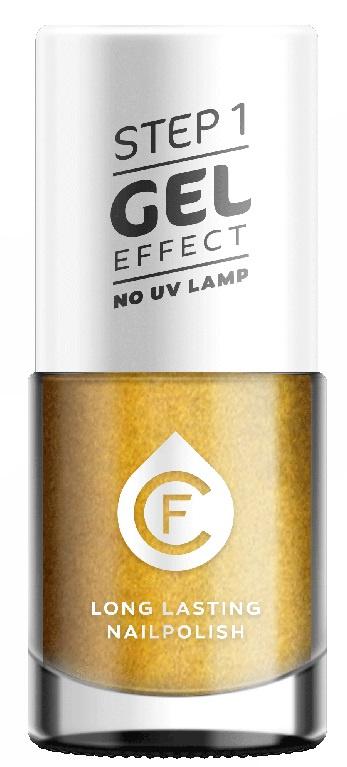 CF Gel Effekt Nagellak - Step 1 - 133. Vintage Gold