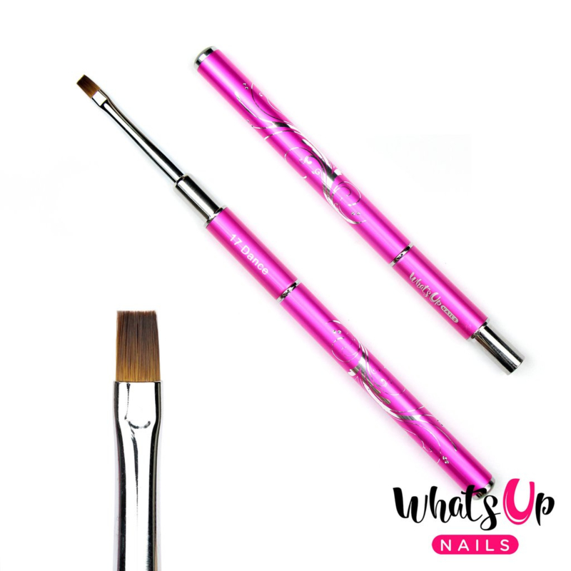Whats Up Nails - Dance #17 Flat Brush