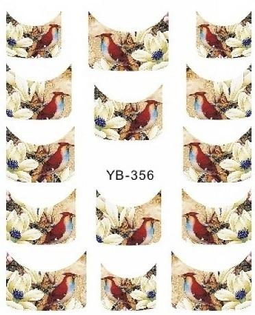 Waterdecals - French Birds