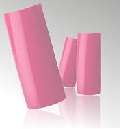 Roze Nagel Tips in Box - 100 stuks