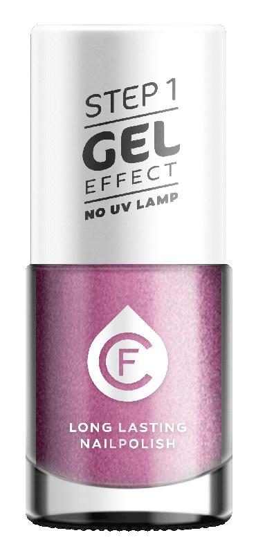 CF Gel Effekt Nagellak - Step 1 - 315. Lila Metallic