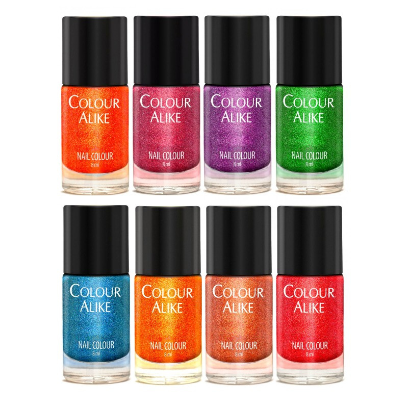 Colour Alike -  Nail Polish - 636_643 I Love Bossa Set