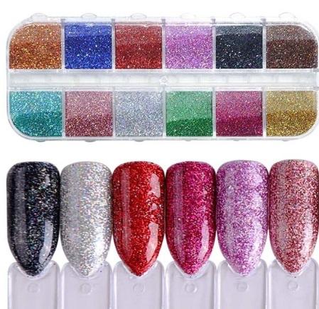 Nailways - Holograpic Glitter Powder Set