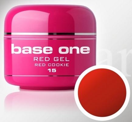 Base One - UV RED GEL - 15. Red Cookie
