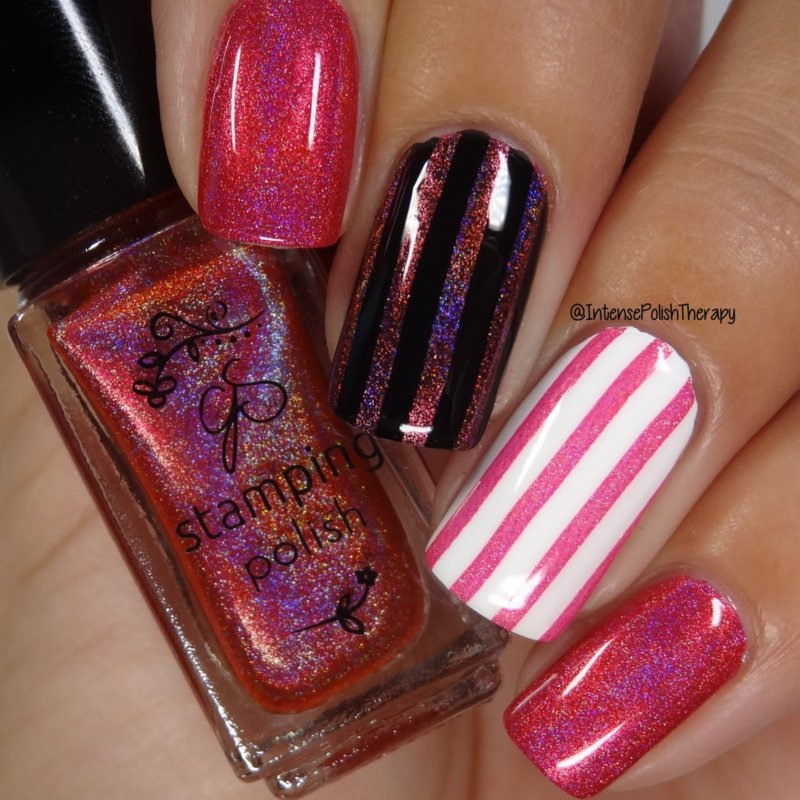 Clear Jelly Stamper Polish - Holo 04