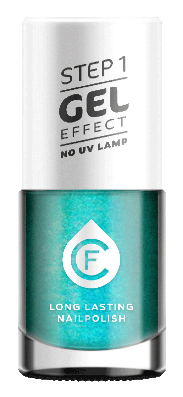 CF Gel Effekt Nagellak - Step 1 - 505. Petrol