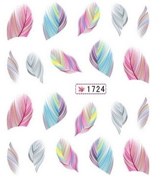 Waterdecals - Pastel Feathers