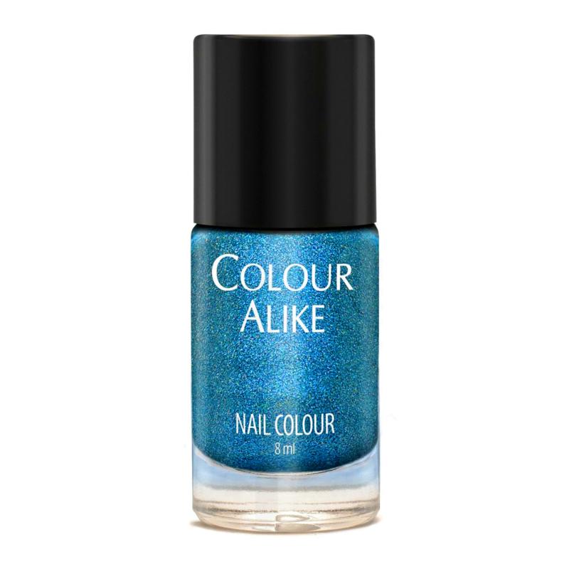 Colour Alike -  Nail Polish - I Love Bossa - 640. Blue Bossa (Ultra Holographic)
