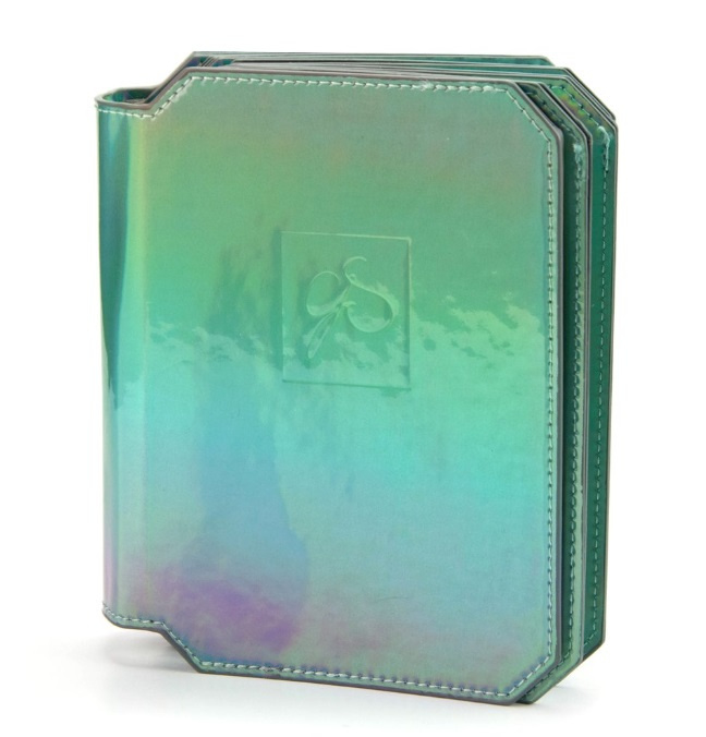 Clear Jelly Stamper - Large Stamping Plate Holder - HoloStunning Green