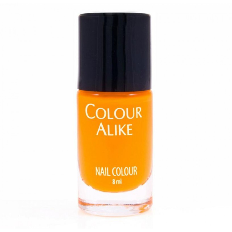 Colour Alike -  Nail Polish - Neon goes Plastic - 607. Orange Fizz