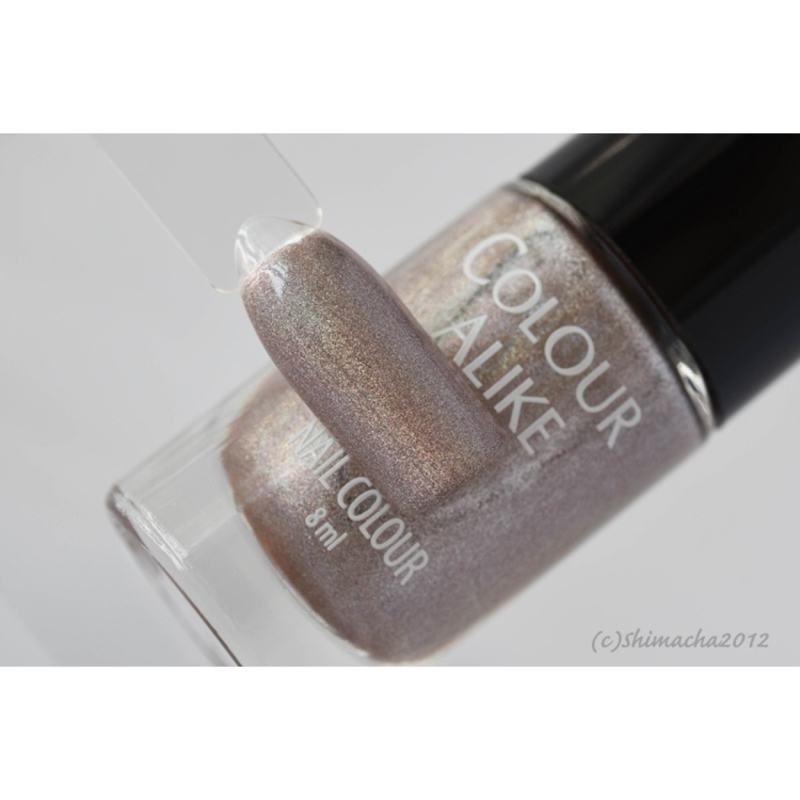 Colour Alike -  Nail Polish - 602. Footprints (Holographic)