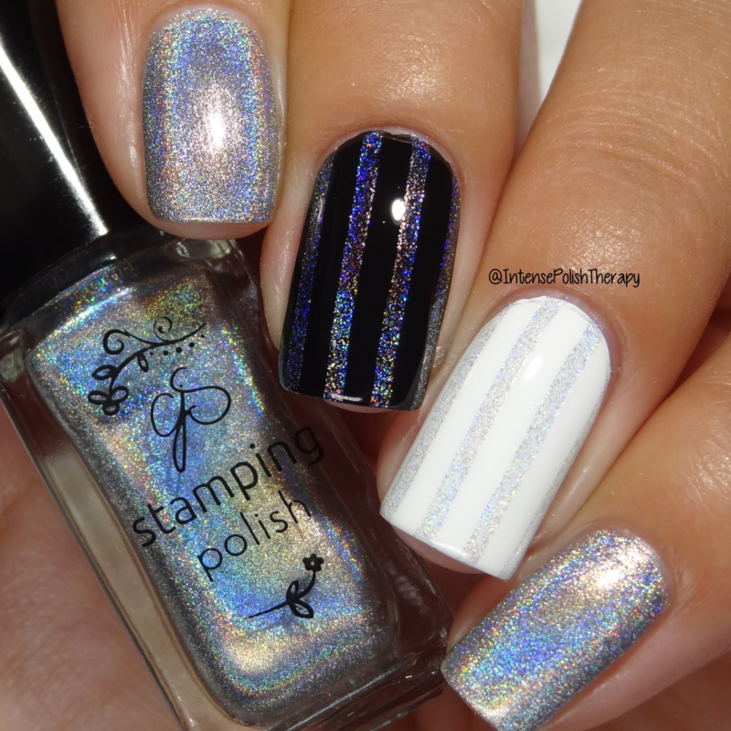 Clear Jelly Stamper Polish - Holo 03