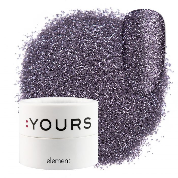 : Yours - Element - Eco Glitter - Violet Mystery