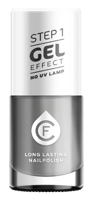 CF Gel Effekt Nagellak - Step 1 - 602. Soft Grey