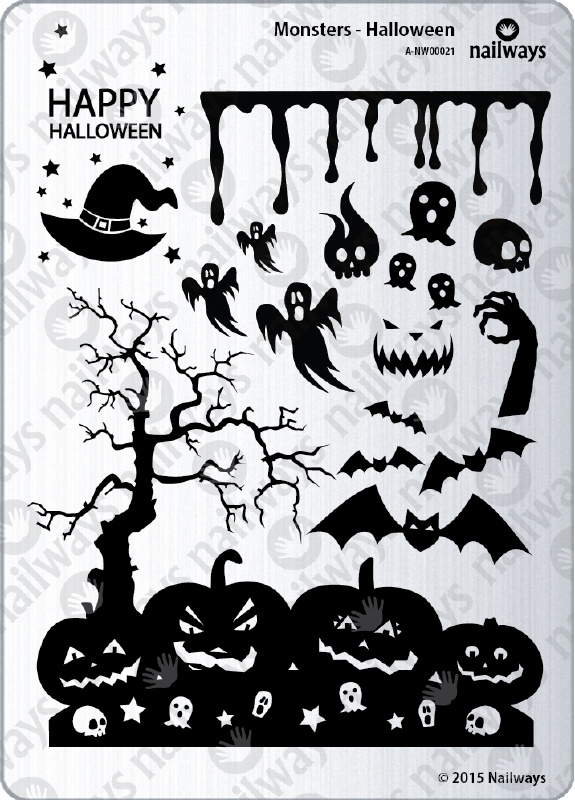 Nailways - Monsters - 21. Halloween