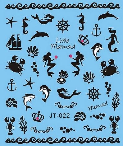 Waterdecals - Little Mermaid