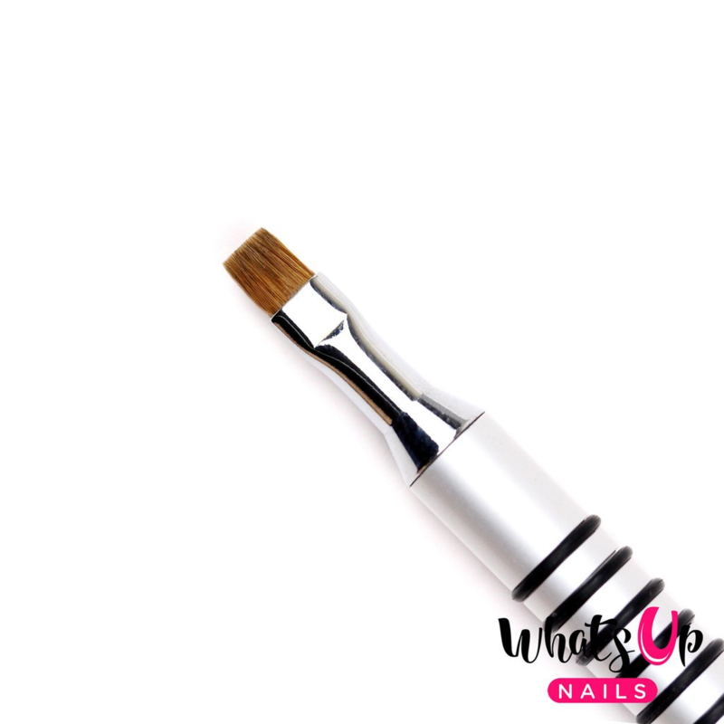 Whats Up Nails - Pure Color #3 Flat Brush