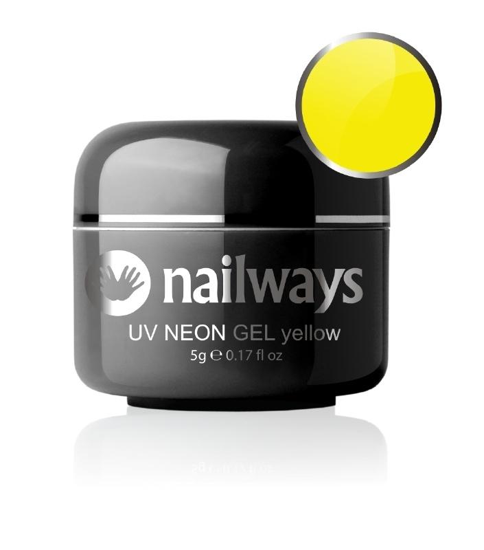 Nailways - NWUVC19 - UV NEON GEL - Yellow