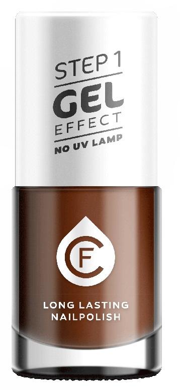CF Gel Effekt Nagellak - Step 1 - 117. Coffee Cacao