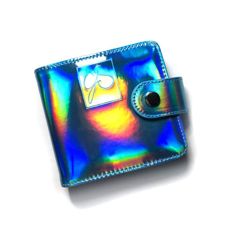 Clear Jelly Stamper - Snap - Medium  Holo Plate Holder - Holo Teal - (8x8)