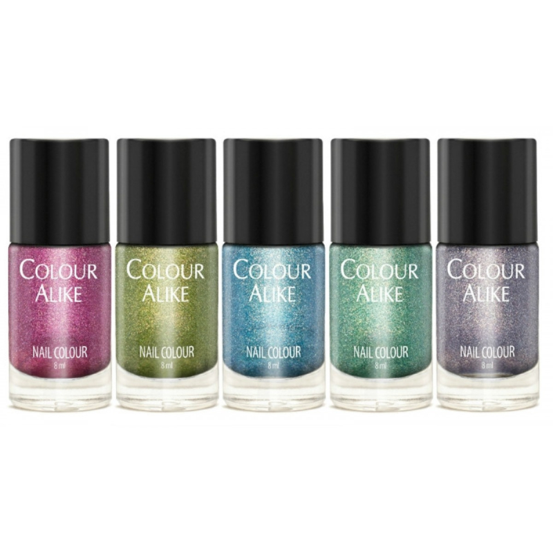 Colour Alike -  Nail Polish - 631_635 Happy Set