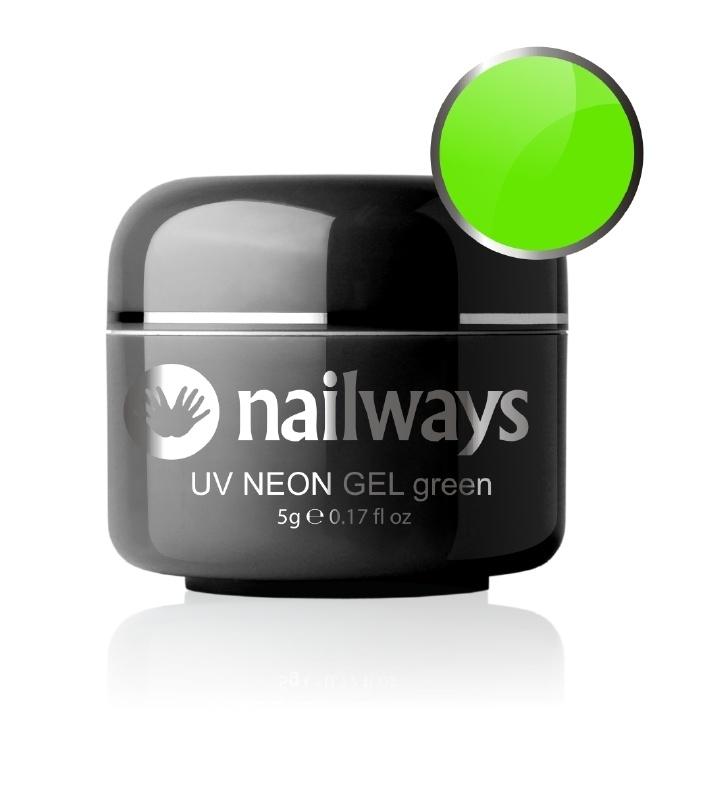Nailways - NWUVC17 - UV NEON GEL - Green