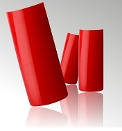 Rode Nagel Tips in Box - 100 stuks