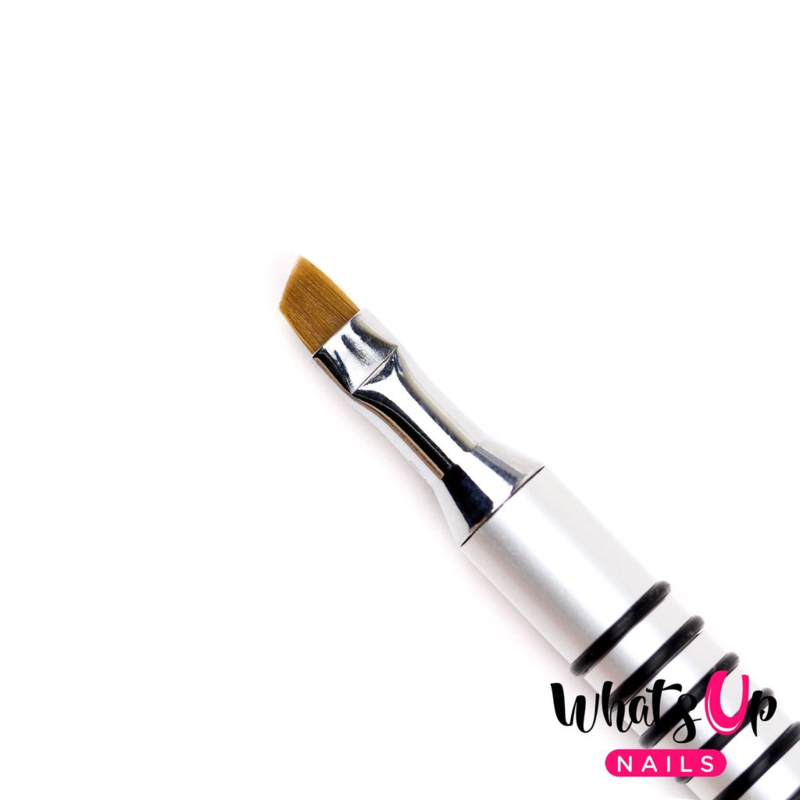 Whats Up Nails - Pure Color #4 Angular Brush