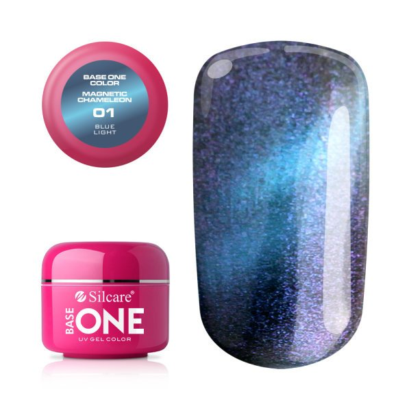 Base One - UV COLOR GEL - Magnetic Chameleon - 01. Blue light