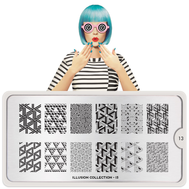 MoYou London - Stamping Plate - Illusion 13