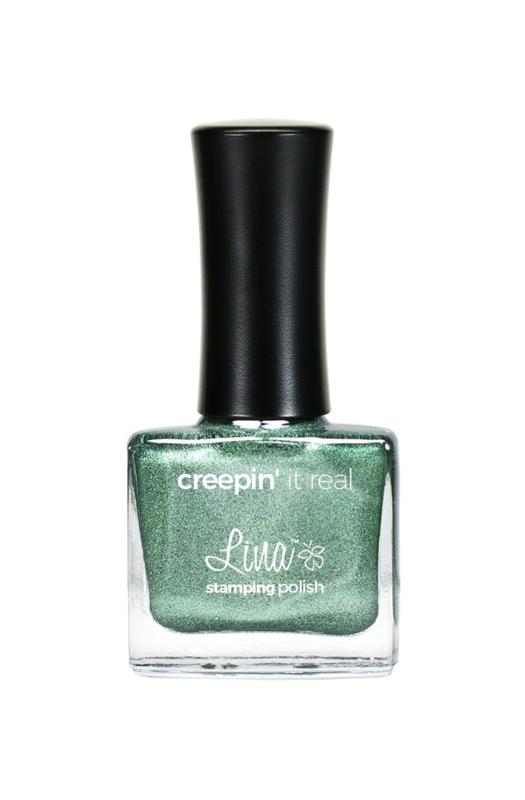 Lina - Stamping polish - Creepin' it real