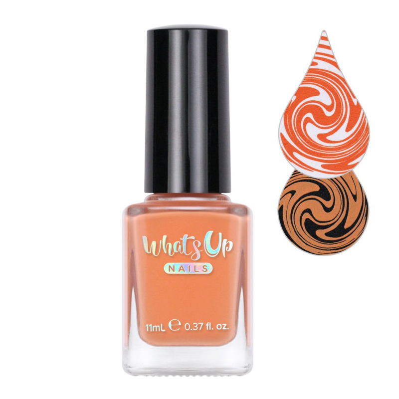 Whats Up Nails - Stamping polish - WSP006 - Sweet Orangutun