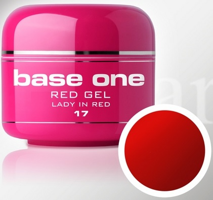 Base One - UV RED GEL - 17. Lady in Red