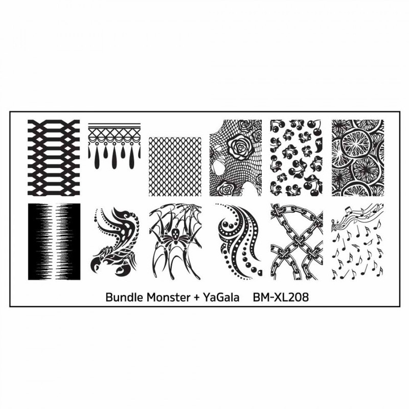Bundle Monster - Blogger Collaboration -  BM-XL208, YaGala