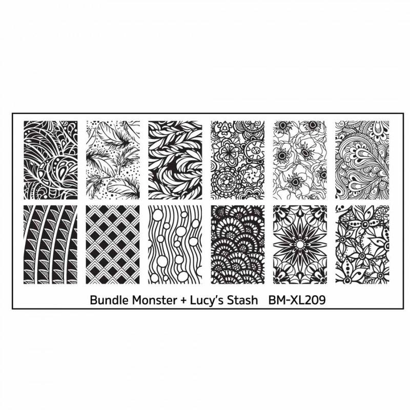 Bundle Monster - Blogger Collaboration - BM-XL209, Lucy's Stash