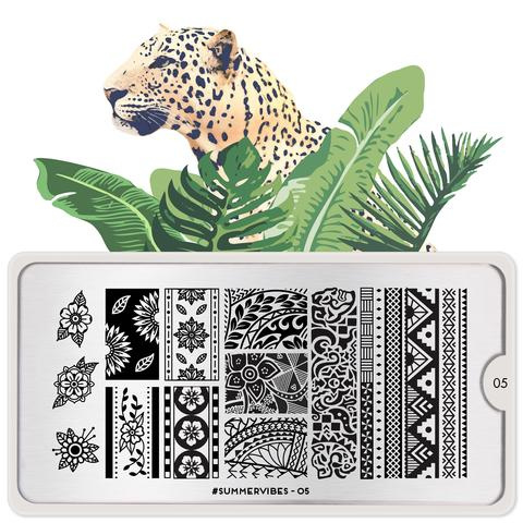 MoYou London - Stamping Plate - Summervibes 05