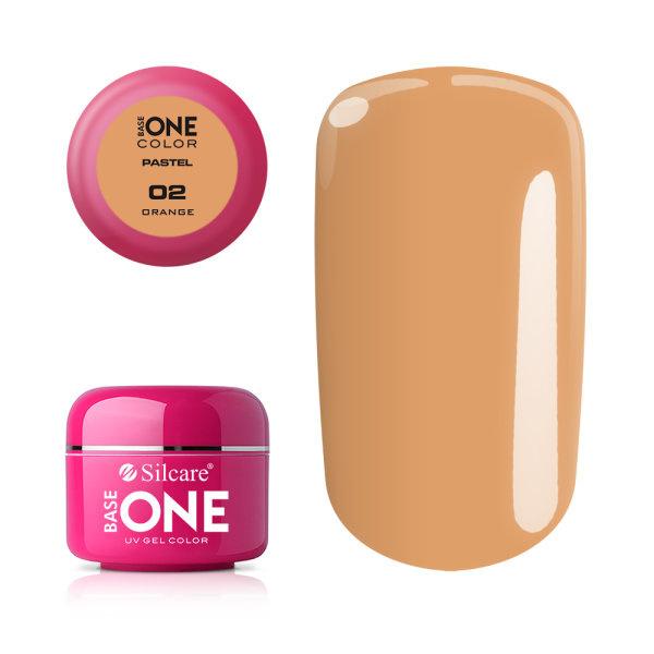 Base One - UV COLOR GEL - Pastel - 02. Orange