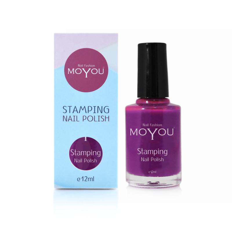 Moyou Nail Fashion - Stamping Polish - 03. Royal Purple
