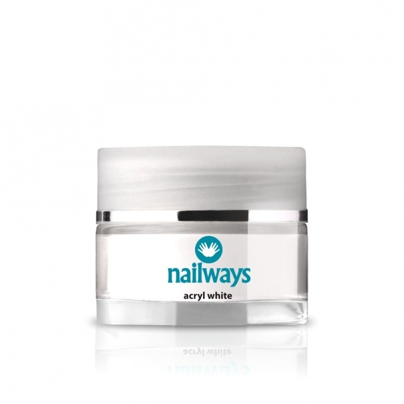 Nailways Acryl - White - 24 gram