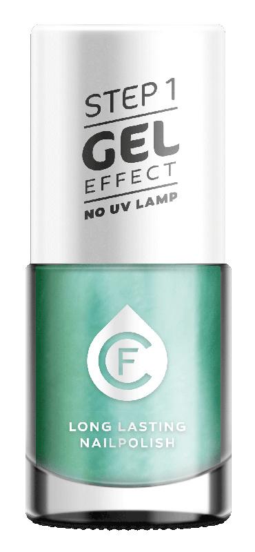 CF Gel Effekt Nagellak - Step 1 - 512. Mother-of-Pearl Green