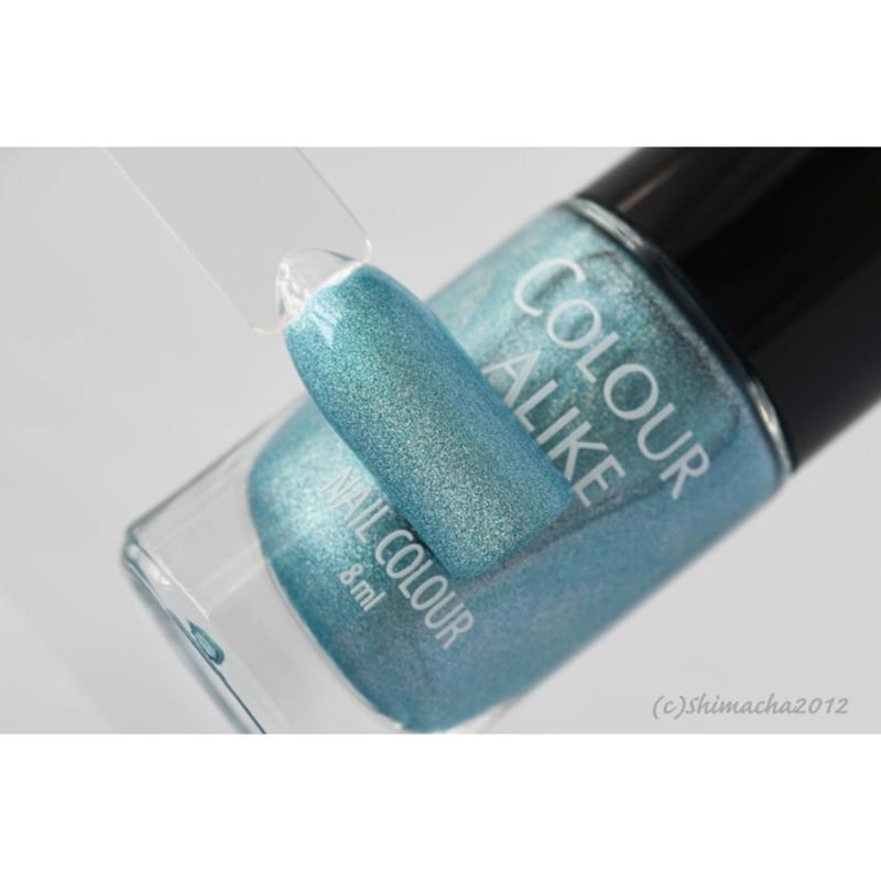 Colour Alike -  Nail Polish - 601. Blue Bossa (Holographic)