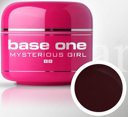 Base One - UV MARSALA GEL - 88. Mysterious Girl