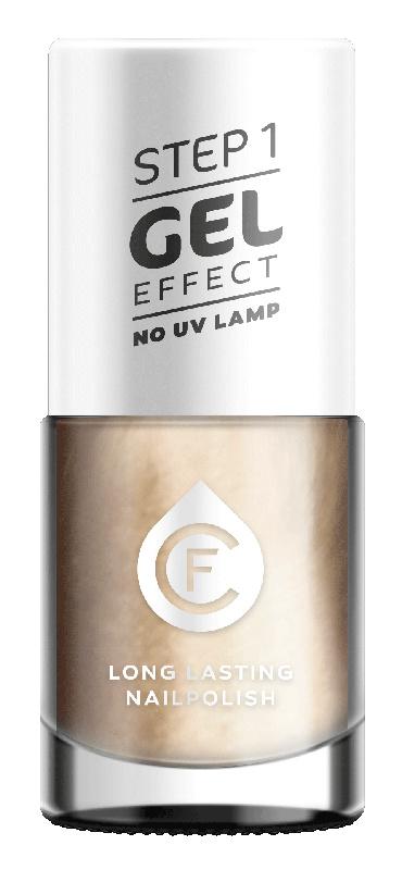CF Gel Effekt Nagellak - Step 1 - 102. Nude Mother-of-Pearl