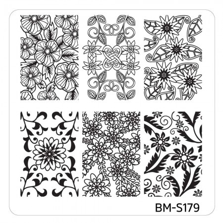 Bundle Monster - Mystic Woods Nail Stamp Plate - Woodland Abstracts